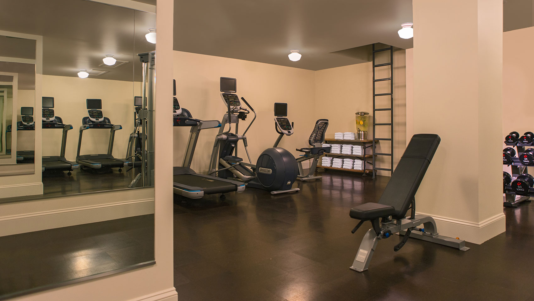 24 Hour Onsite Fitness Center